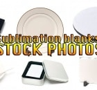 sublimation blanks stock photos